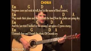 Seminole Wind (John Anderson) Guitar Cover Lesson With Chords Lyrics On Screen