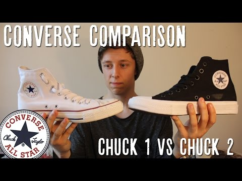 Converse Chuck Taylor In Depth Comparison | Chuck 1 vs Chuck 2