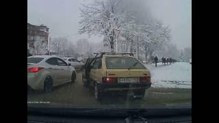 Беспредел на дорогах Краснодара