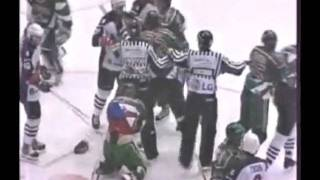 Авангард vs Ак Барс Драка(Fights Avangard vs Ak Bars Brawl)
