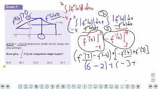 Eğitim Vadisi AYT Matematik 23.Föy İntegralde Alan 1 Konu Anlatım Videoları