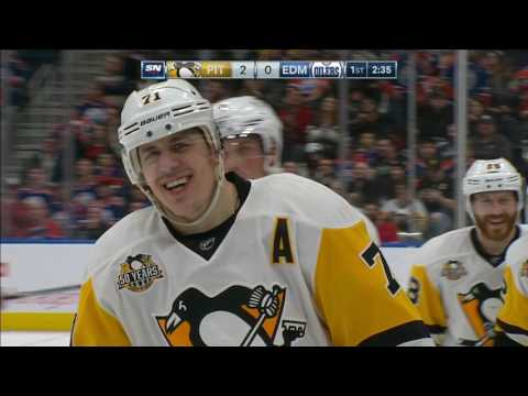 Gotta See It: Malkin credited with goal after McDavid kicks puck off Talbot and in
