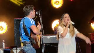 Niall Horan & Maren Morris - Seeing Blind Live - Mountain View, CA - 8/4/18