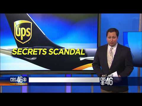 Lawrence Zimmerman Discussing the UPS Trade Secrets Scandal on WGCL TV