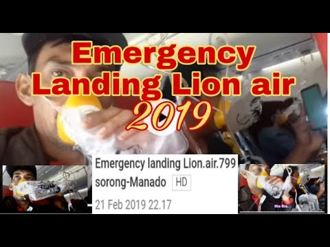 Emergency landing  Lion.air.799 sorong-Manado