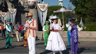 Mary Poppins Jolly Holiday at Disneyland