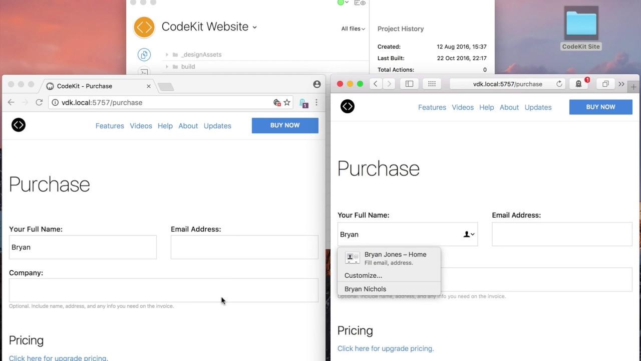 CodeKit - Browser Sync