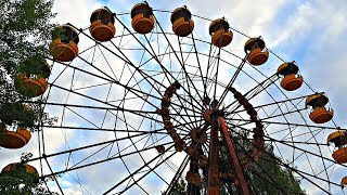 ✅Запуск колеса обозрения в Припяти после 30 лет простоя ☢ Оживляем и показываем механизм колеса
