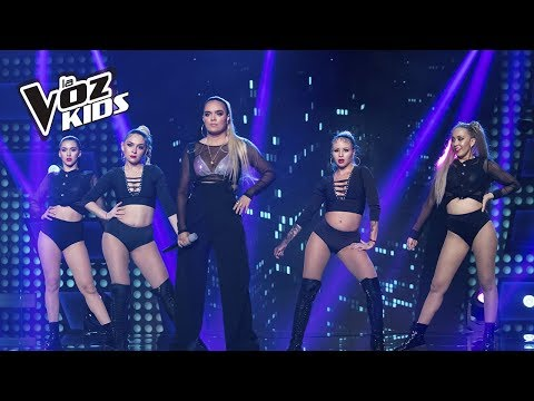 Karol G canta Pineapple | La Voz Kids Colombia 2018