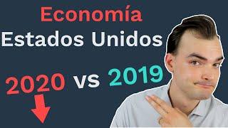 Caída Economía Estados Unidos: Comparación 2020 vs 2019