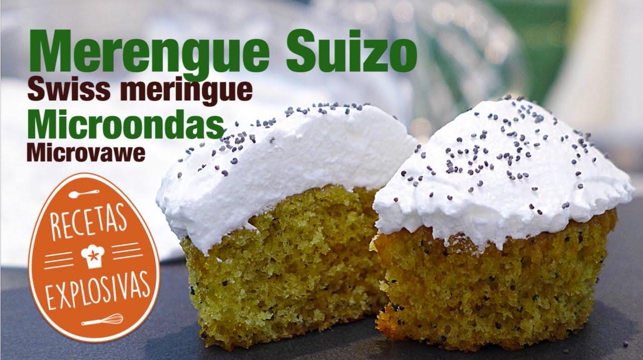 Merengue Suizo con Microondas - Recetas Explosivas