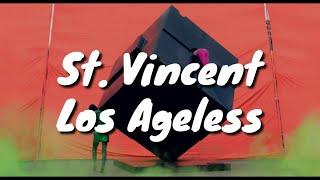 Gambar cover St. Vincent - Los Ageless (Lyrics)