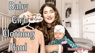 Baby Girl Clothing Haul 2020 | Baby Zara, Baby Gap, Old Navy, And More!
