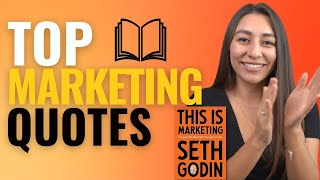 This Is Marketing📚Book Review + BEST MARKETING QUOTES 2020 | Seth Godin Marketing Guru