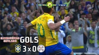 615c2ad4d6 Veja os gols de Brasil 3 x 0 Paraguai realizado na Arena Corínthians nesta  terça-feira