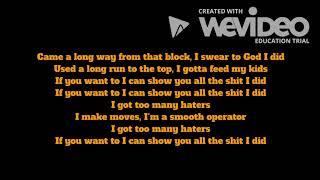 Yung Bleu- Smooth operator(lyrics)