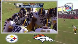 AFC Divisional 2016 Steelers vs Broncos Full Game 2016 NFL Playoffs 2016