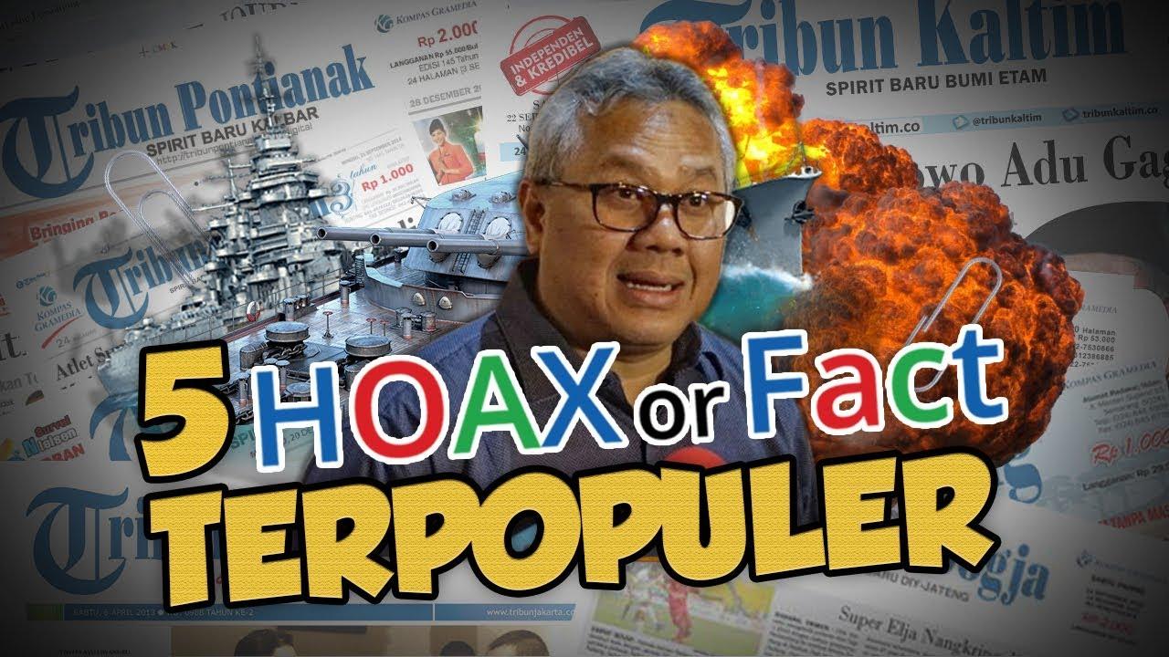TOP 5 HOAX OR FACT: Dari Cina Bangun Pangkalan Militer hingga Bertambah Kapal Ikan Asing