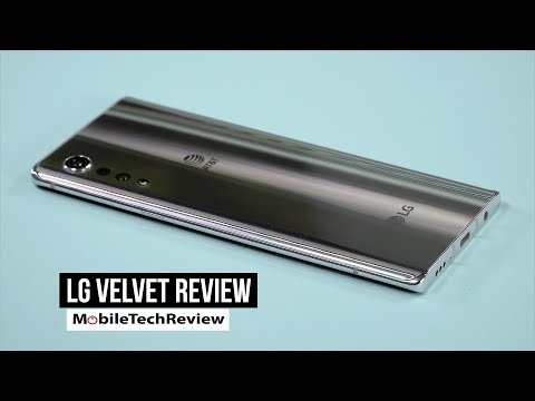 External Review Video KojiLiknxFA for LG VELVET Smartphone with LG Dual Screen