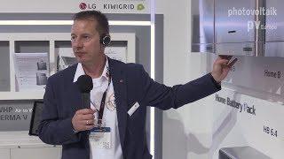 LG Electronics präsentiert zwei neue Speichersysteme auf der The smarter E Europe