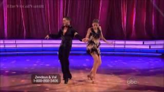 Zendaya Coleman and Val - Cha Cha -Week-6-DWTS'16