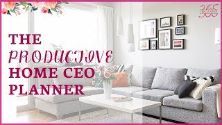 The Productive Home CEO Planner