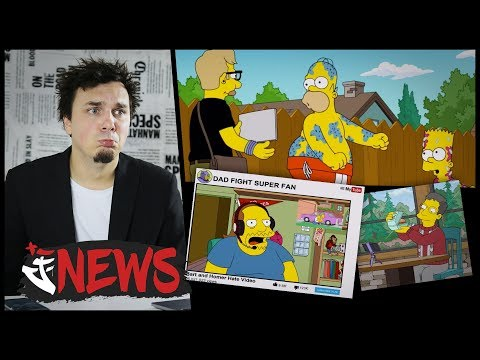 SIMPSONOVI SE OPŘELI DO YOUTUBERŮ - AtiNEWS