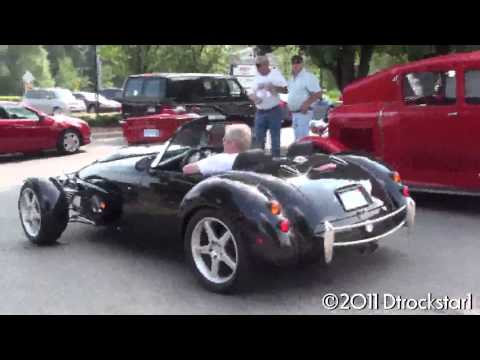 Panoz AIV Roadster Loud Sound - Panoz LLC - Sports Cars - Luxury - Roadster