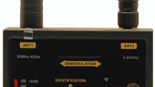 Pro1206i RF Bug Detector