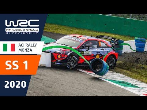WRC第7戦ラリー・モンツァ ステージ1のハイライト動画