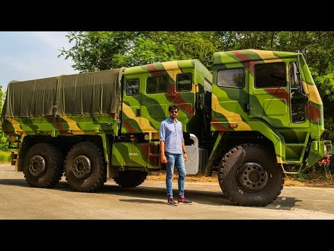 Ashok Leyland FAT 6x6 Review - Simply Wow | Faisal Khan