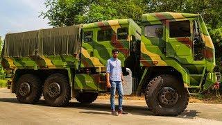 Ashok Leyland FAT 6x6 Review - Simply Wow | Faisal Khan