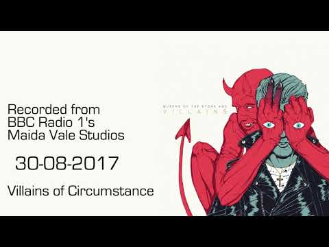 Queens of the Stone Age - Villains of Circumstance - Live from Maida Vale 30-08-2017