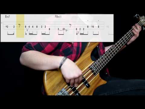 Bruno Mars - 24K Magic (Bass Cover) (Play Along Tabs In Video) Mp3