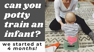Can you potty train an infant? | Elimination Communication