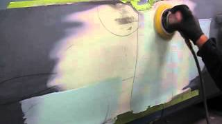 BONDO SHAPING PERFECTION WITH THE BLADE