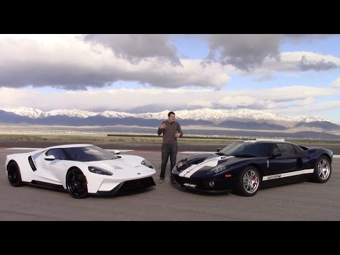 2017 Ford GT vs. 2005 Ford GT Is an American Supercar ...