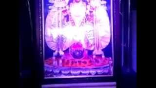 preview picture of video 'Exclusive Adi shinghasan of Maa Dakshineshwar temple with latest LED blue lighting effect.'