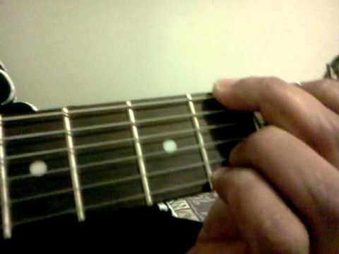 G6 Guitar Chord