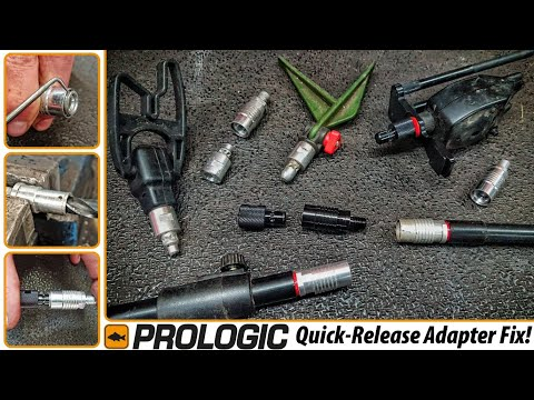 Prologic Quick-Change Bankstick Adapter DIY Hack Video: Make Old & New Versions Fit Each Other!