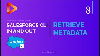 SFDX and Salesforce CLI Course   8 - Retrieve Metadata From Salesforce Org Using CLI