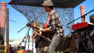 "Abigail Washburn ""Eve Stole The Apple"" @ Joshua Tree Roots Music Festival 2011"
