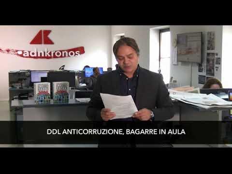 TG ADNKRONOS MERCOLEDI' 21 NOVEMBRE 2018