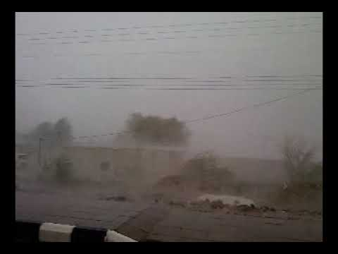 الأمطار الغزيره على مركز أضم