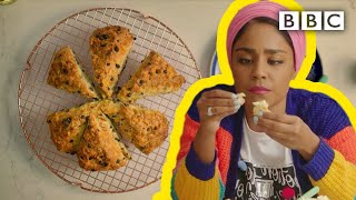 Nadiyas No-yeast Fruity Soda Bread Recipe With Homemade Butter - BBC