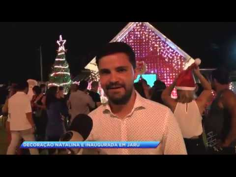 Jaru inaugura iluminação natalina - Gente de Opinião