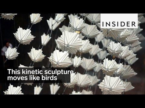 Diffusion Choir Kinetic Sculpture