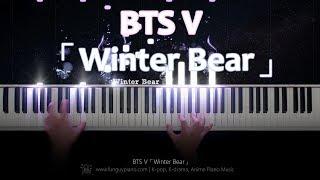 BTS V「Winter Bear」Piano Cover