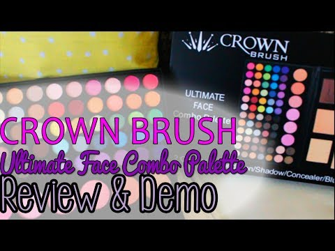 32 Color Lip Palette by Crown Brush #6