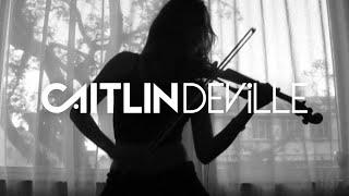 Hysteria (Muse) - Electric Violin Cover   Caitlin De Ville